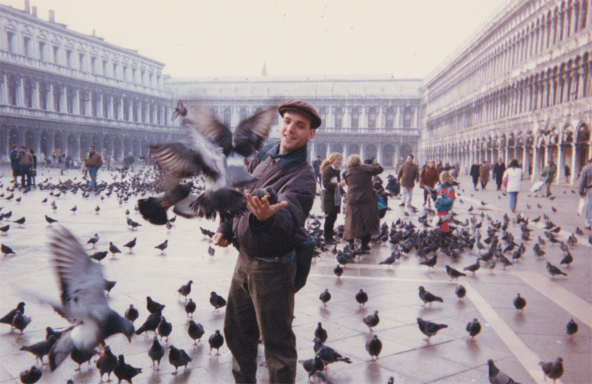 Michael Abraham 1991 in Venice web
