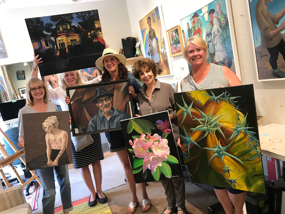 Art classes and Oil Painting for Adults with Michael Abraham in Ladner, BC