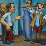 figure asks why to pinnochio scream