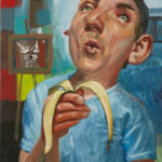 Self Portrait and Banana