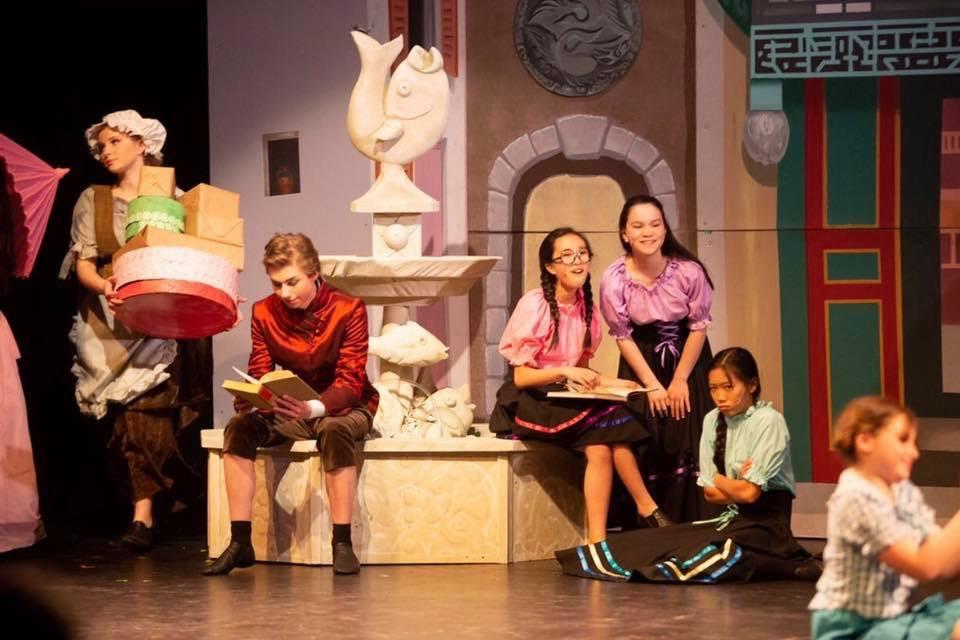 Childrens theatre of richmond present cinderella with set design by michael abraham