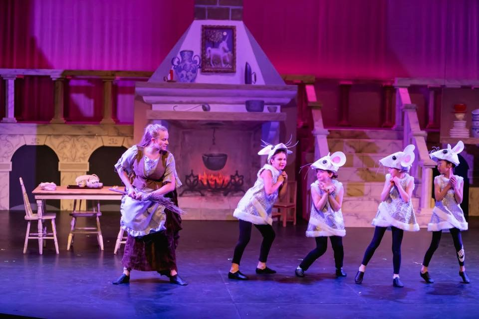 Childrens theatre of richmond present cinderella with set design by michael abraham